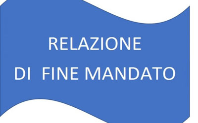RELAZIONE DI FINE MANDATO 2016-2021
