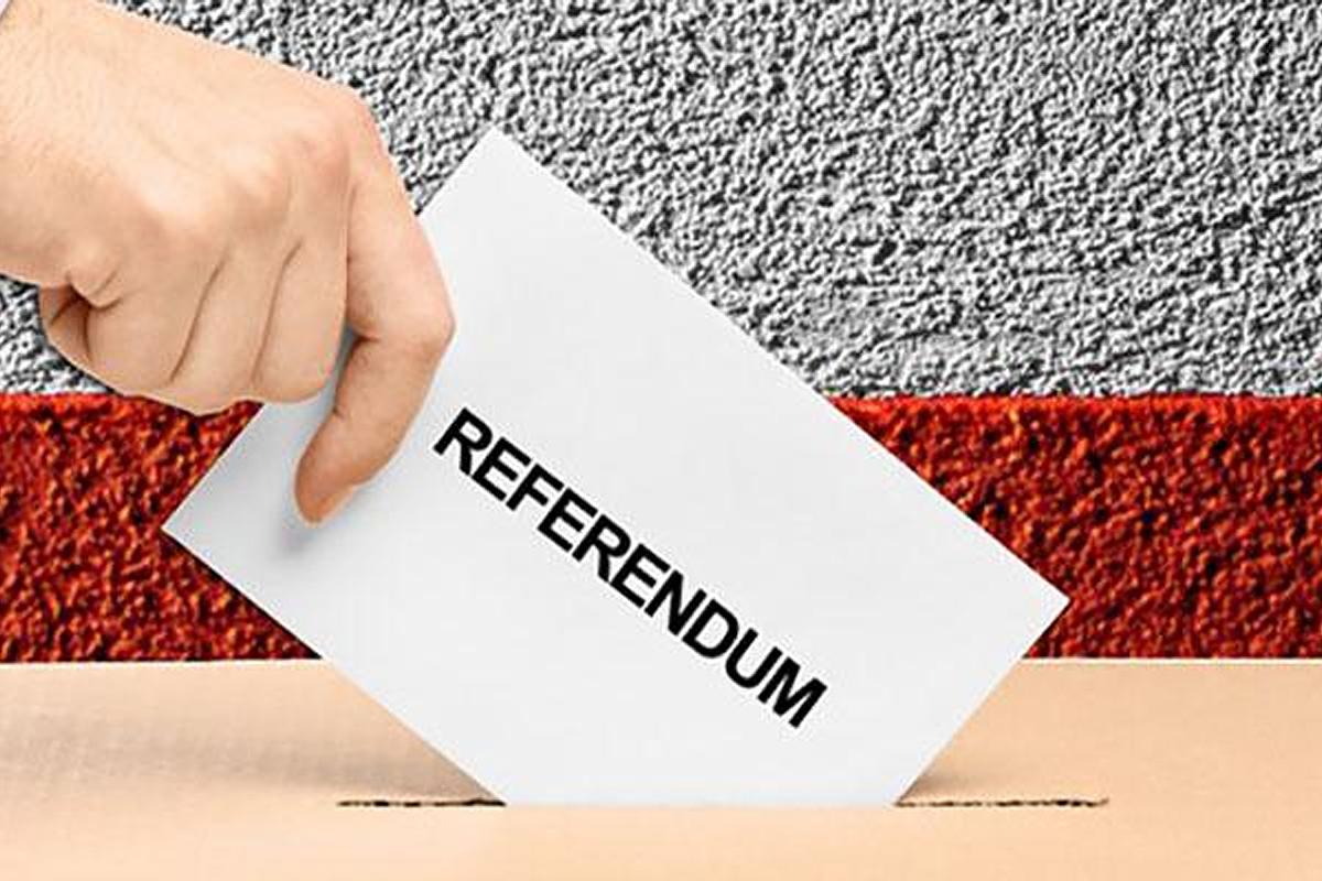 Referendum Costituzionale di domenica 29 Marzo 2020